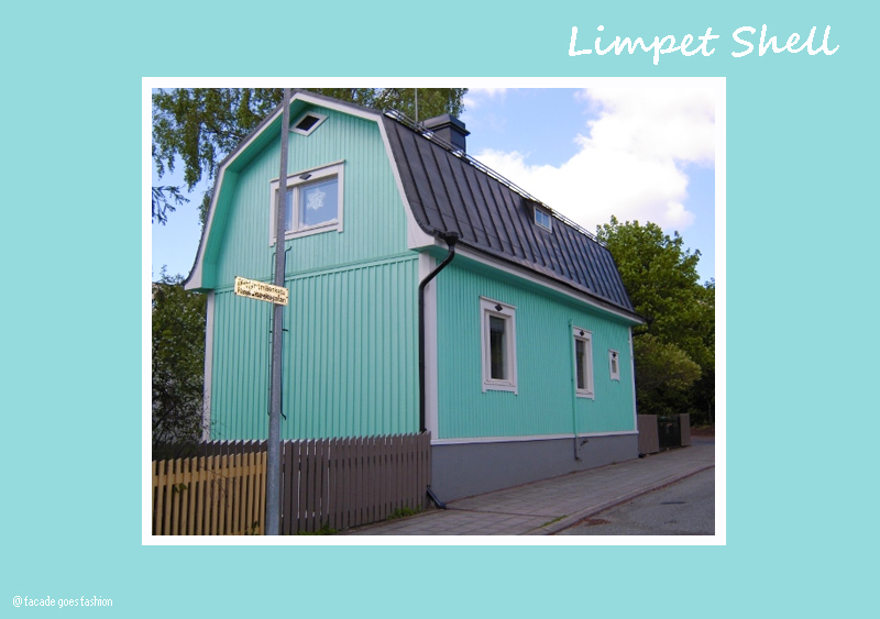 Pastel blue house PAntone 2016 Limpet Shell