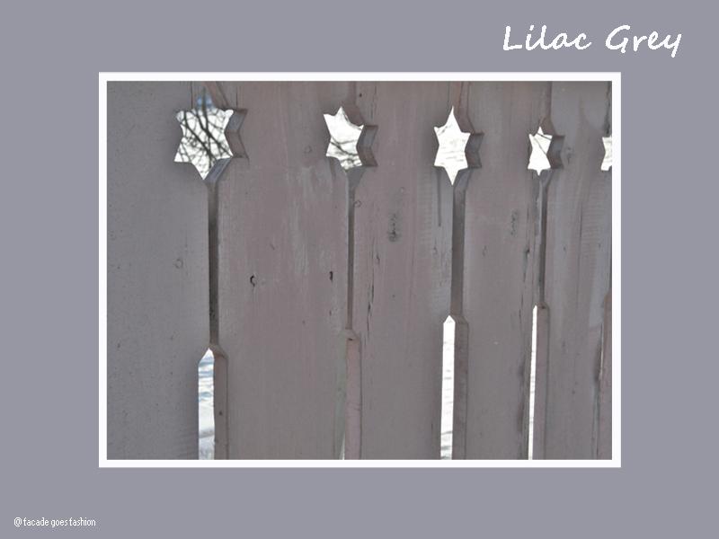 Lilac grey fence Pantone 2016 Lilac grey